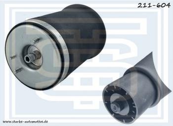 Задний правый пневмобаллон Starke для BMW X5 E53 (Starke 211-604)